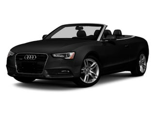 Brilliant Black 2013 Audi A5 Pictures A5 Convertible 2D Prestige 2WD photos front view