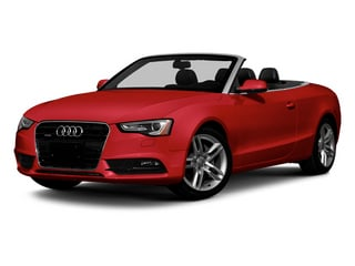 Brilliant Red 2013 Audi A5 Pictures A5 Convertible 2D Premium Plus 2WD photos front view