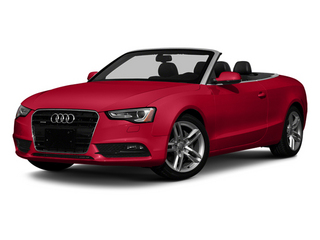 Brilliant Red 2013 Audi A5 Pictures A5 Convertible 2D Premium 2WD photos front view