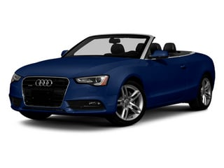 Scuba Blue Metallic 2013 Audi A5 Pictures A5 Convertible 2D Prestige 2WD photos front view