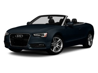 Moonlight Blue Metallic 2013 Audi A5 Pictures A5 Convertible 2D Premium Plus 2WD photos front view