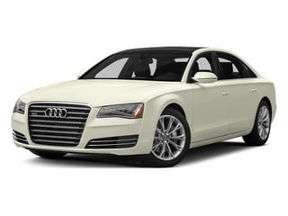 Glacier White Metallic 2013 Audi A8 L Pictures A8 L Sedan 4D 6.3 L AWD W12 photos front view