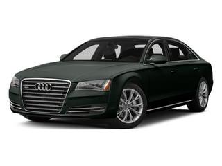 Emerald Black Metallic 2013 Audi A8 L Pictures A8 L Sedan 4D 3.0T L AWD V6 Turbo photos front view