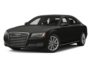 Havanna Black Metallic 2013 Audi A8 L Pictures A8 L Sedan 4D 6.3 L AWD W12 photos front view
