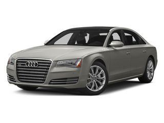 Quartz Gray Metallic 2013 Audi A8 L Pictures A8 L Sedan 4D 6.3 L AWD W12 photos front view