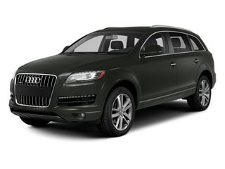 Daytona Gray Pearl Effect 2013 Audi Q7 Pictures Q7 Utility 4D 3.0 TDI Premium Plus AWD photos front view