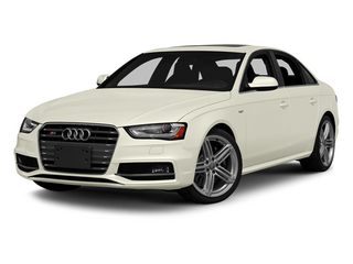 Glacier White Metallic 2013 Audi S4 Pictures S4 Sedan 4D S4 Prestige AWD photos front view