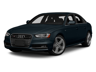 Moonlight Blue Metallic 2013 Audi S4 Pictures S4 Sedan 4D S4 Prestige AWD photos front view