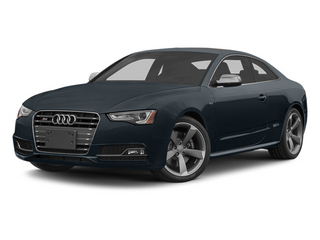 Moonlight Blue Metallic 2013 Audi S5 Pictures S5 Coupe 2D S5 Prestige AWD photos front view