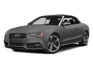Monsoon Gray Metallic 2013 Audi S5 Pictures S5 Convertible 2D S5 Prestige AWD photos front view