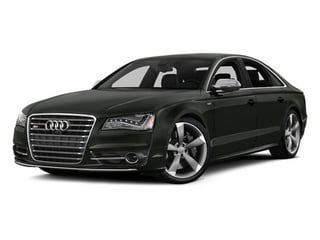 Daytona Gray Pearl 2013 Audi S8 Pictures S8 Sedan 4D S8 AWD photos front view
