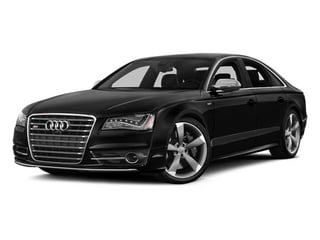 Phantom Black Pearl 2013 Audi S8 Pictures S8 Sedan 4D S8 AWD photos front view