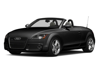 Brilliant Black 2013 Audi TT Pictures TT Roadster 2D Prestige AWD photos front view