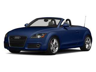 Scuba Blue Metallic 2013 Audi TT Pictures TT Roadster 2D Prestige AWD photos front view