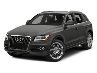 Monsoon Gray Metallic 2013 Audi Q5 Pictures Q5 Utility 4D 2.0T Prestige AWD Hybrid photos front view
