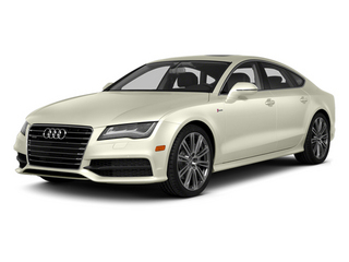 Glacier White Metallic 2013 Audi A7 Pictures A7 Sedan 4D 3.0T Premium Plus AWD photos front view