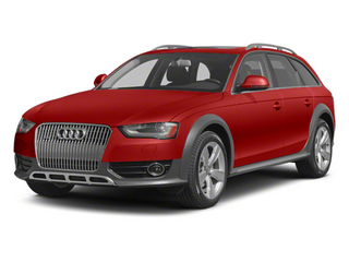 Volcano Red Metallic 2013 Audi allroad Pictures allroad Wagon 4D Premium AWD photos front view