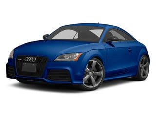 Sepang Blue Pearl 2013 Audi TT RS Pictures TT RS Coupe 2D RS AWD photos front view