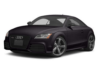 Panther Black Crystal 2013 Audi TT RS Pictures TT RS Coupe 2D RS AWD photos front view