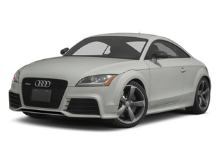 Suzuka Gray Metallic 2013 Audi TT RS Pictures TT RS Coupe 2D RS AWD photos front view
