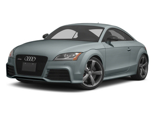 Monza Silver Pearl 2013 Audi TT RS Pictures TT RS Coupe 2D RS AWD photos front view