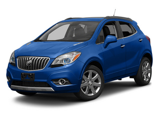 Brilliant Blue Metallic 2013 Buick Encore Pictures Encore Utility 4D AWD I4 Turbo photos front view