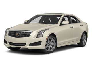 White Diamond Tricoat 2013 Cadillac ATS Pictures ATS Sedan 4D Luxury photos front view