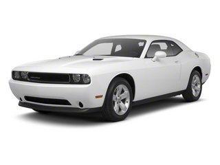 Bright White 2013 Dodge Challenger Pictures Challenger Coupe 2D SRT-8 Core V8 photos front view