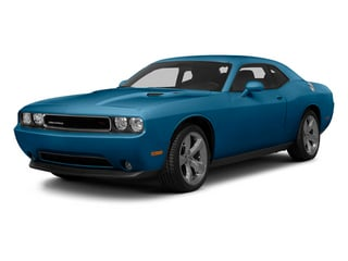 Jazz Blue Pearl 2013 Dodge Challenger Pictures Challenger Coupe 2D R/T V8 photos front view