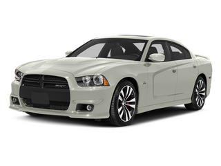 Bright White 2013 Dodge Charger Pictures Charger Sedan 4D SRT-8 V8 photos front view