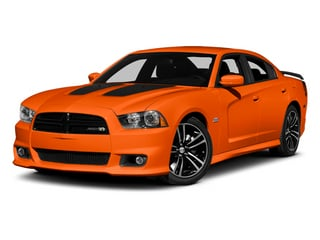 Hemi Orange Pearl 2013 Dodge Charger Pictures Charger Sedan 4D SRT-8 Super Bee V8 photos front view