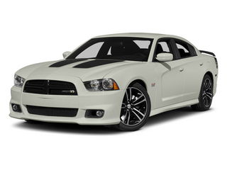 Bright White 2013 Dodge Charger Pictures Charger Sedan 4D SRT-8 Super Bee V8 photos front view