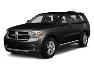 Brilliant Black Crystal Pearl 2013 Dodge Durango Pictures Durango Utility 4D Crew 2WD photos front view