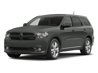 Mineral Gray Metallic 2013 Dodge Durango Pictures Durango Utility 4D Citadel AWD photos front view