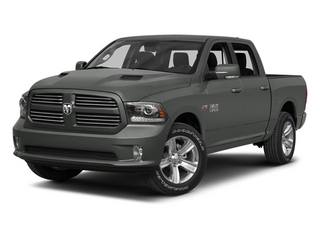 Mineral Gray Metallic 2013 Ram Truck 1500 Pictures 1500 Crew Cab Tradesman 2WD photos front view