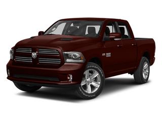 Western Brown 2013 Ram Truck 1500 Pictures 1500 Crew Cab Tradesman 2WD photos front view