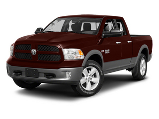 Western Brown 2013 Ram 1500 Pictures 1500 Quad Cab Outdoorsman 2WD photos front view