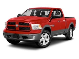 Flame Red 2013 Ram 1500 Pictures 1500 Quad Cab Sport 4WD photos front view