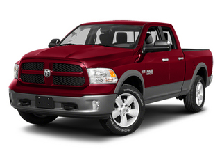 Deep Cherry Red Crystal Pearl 2013 Ram 1500 Pictures 1500 Quad Cab Sport 4WD photos front view
