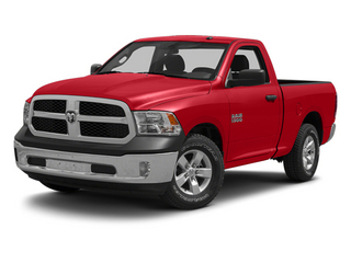 Flame Red 2013 Ram Truck 1500 Pictures 1500 Regular Cab Express 4WD photos front view