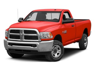 Bright Red 2013 Ram 2500 Pictures 2500 Regular Cab SLT 2WD photos front view