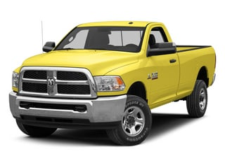 Yellow 2013 Ram 2500 Pictures 2500 Regular Cab SLT 2WD photos front view