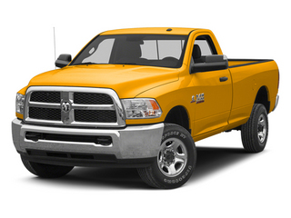 Case Construction Yellow 2013 Ram 2500 Pictures 2500 Regular Cab SLT 2WD photos front view