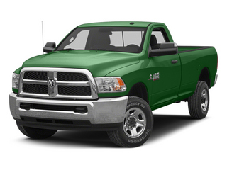 Tree Green 2013 Ram 2500 Pictures 2500 Regular Cab SLT 2WD photos front view