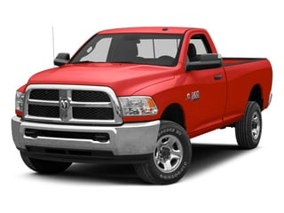 Flame Red 2013 Ram 2500 Pictures 2500 Regular Cab SLT 2WD photos front view