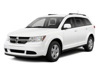 White 2013 Dodge Journey Pictures Journey Utility 4D Crew AWD photos front view