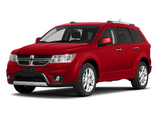 Bright Red 2013 Dodge Journey Pictures Journey Utility 4D R/T AWD photos front view
