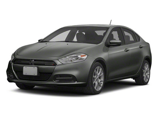 Tungsten Metallic 2013 Dodge Dart Pictures Dart Sedan 4D Aero I4 Turbo photos front view