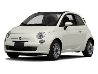 Gucci White 2013 FIAT 500 Pictures 500 Convertible 2D Lounge I4 photos front view