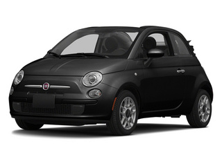 Gucci Black 2013 FIAT 500 Pictures 500 Convertible 2D Lounge I4 photos front view